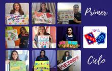 Mensaje de apoyo de Profesores y Tías de Primer Ciclo para todos sus alumnos y alumas.