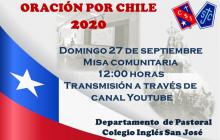 Misa a la Chilena, Oración por Chile