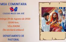 Misa Comunitaria Agosto 2021